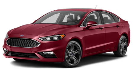 Stock Photo of 2017 Ford Fusion