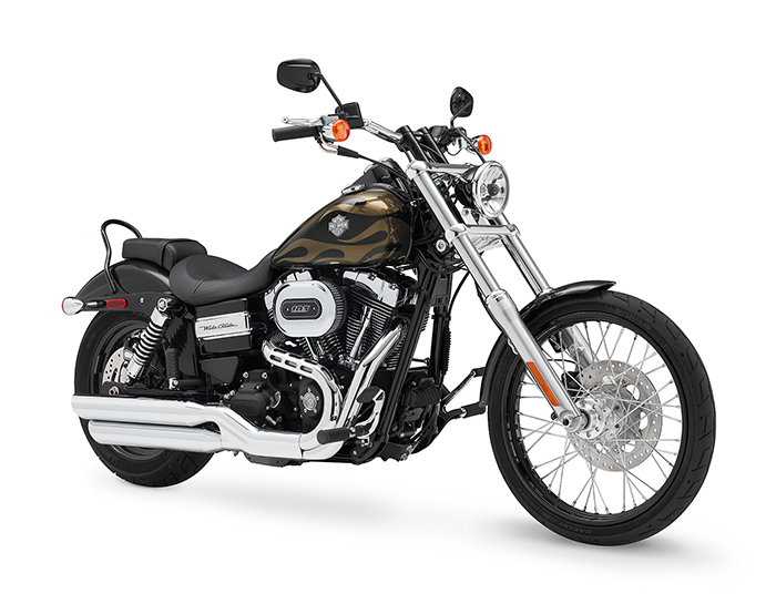 2016 Harley Davidson Dyna Wide Glide Motorcycle at Gateway Harley Davidson