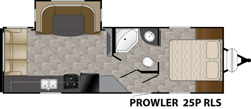 2016 Heartland Prowler 25P RLS