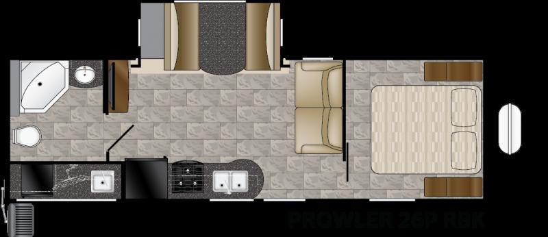 2016 Heartland Prowler 26P RBK