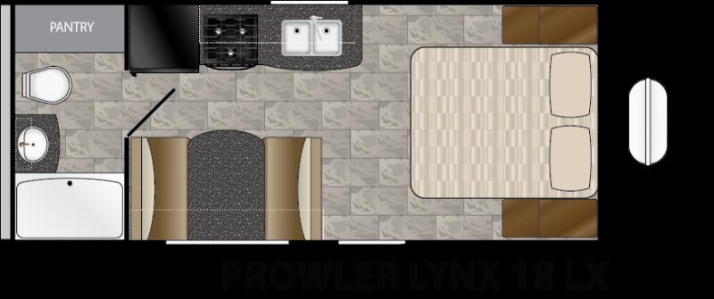2016 Heartland Prowler Lynx 18 LX