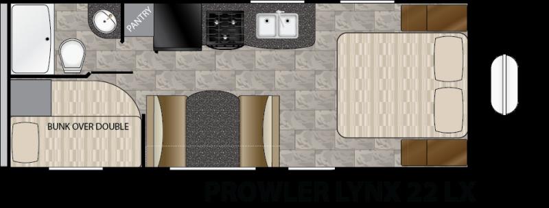 2016 Heartland Prowler Lynx 22 LX