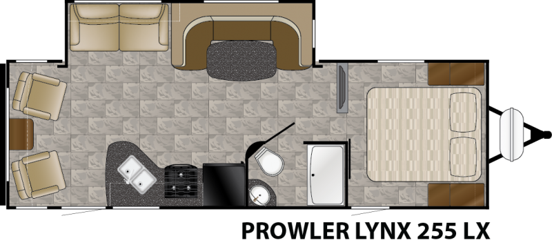 2016 Heartland Prowler Lynx 255 LX