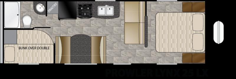 2016 Heartland Prowler Lynx 25 LX