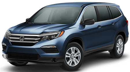 Stock Photo of 2016 Honda Pilot