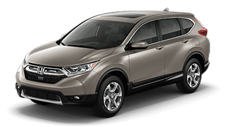 2017 Honda CR-V Tan with Gray Interior