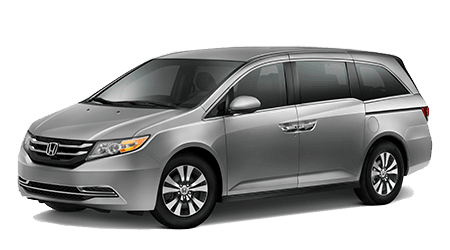2017 Honda Odyssey Gray with Gray Interior