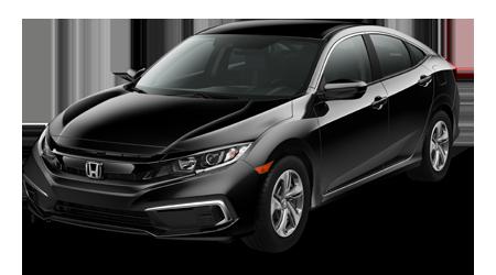 2019 Honda Civic LX Black