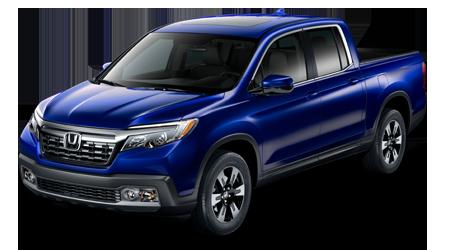 2019 Honda Ridgeline RTL Blue