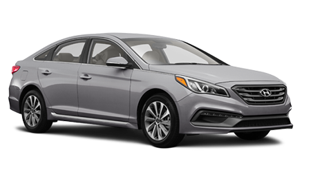 Stock Photo of Hyundai Sonata