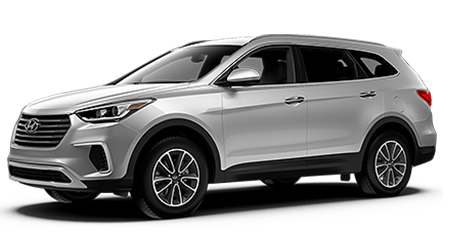 Stock Photo of 2017 Hyundai Santa Fe