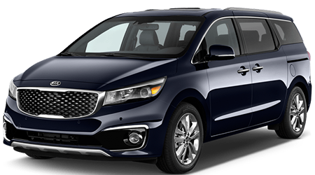 Stock Photo of Kia Sedona