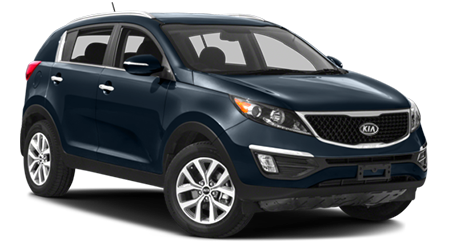 Stock Photo of Kia Sportage near Holiday, FL