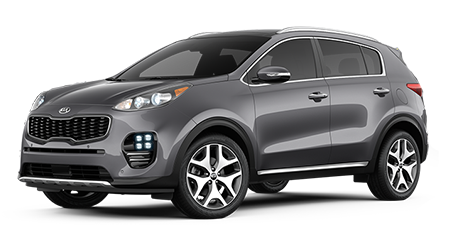 Stock Photo of 2017 Kia Sportage