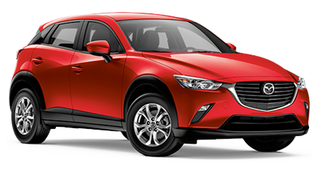 Stock Photo of 2016 Mazda CX-3