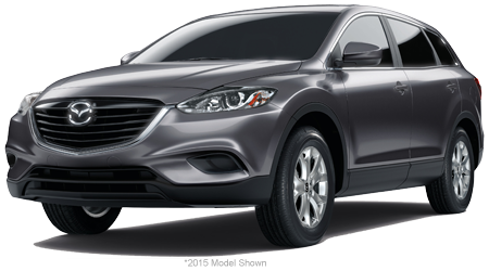 Stock Photo of 2016 Mazda CX-9