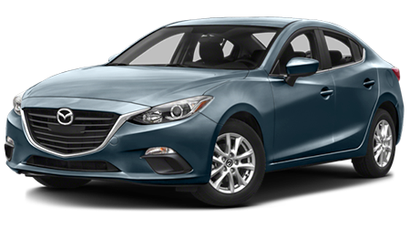 Stock Photo of 2016 Mazda3