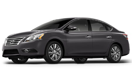 Stock Photo of 2015 Nissan Sentra