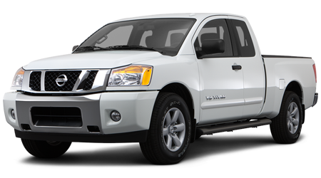Stock Photo of 2015 Nissan Titan