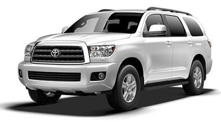 Stock Photo of 2016 Toyota Sequoia