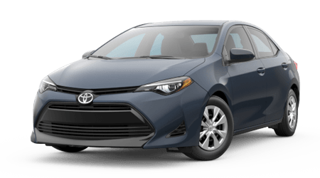 Stock Photo of 2017 Toyota Corolla