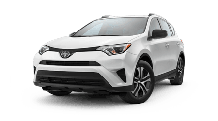 Stock Photo of 2017 Toyota RAV4