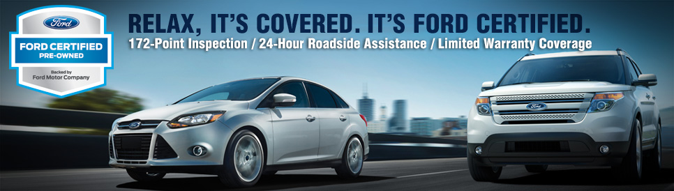 Lakeland Ford Certified Pre-Owned Vehicle Program