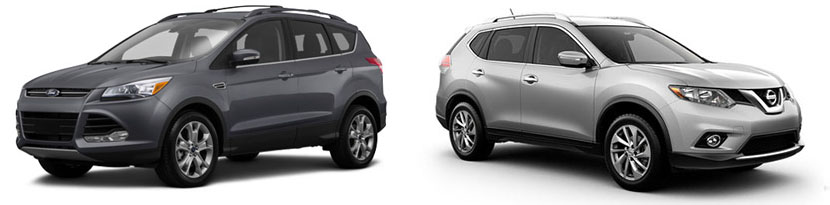 2015 Ford Escape vs Nissan Rogue in Lakeland FL | Lakeland Ford