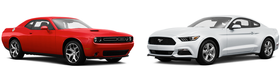 2015 dodge challenger vs ford mustang in orlando fl