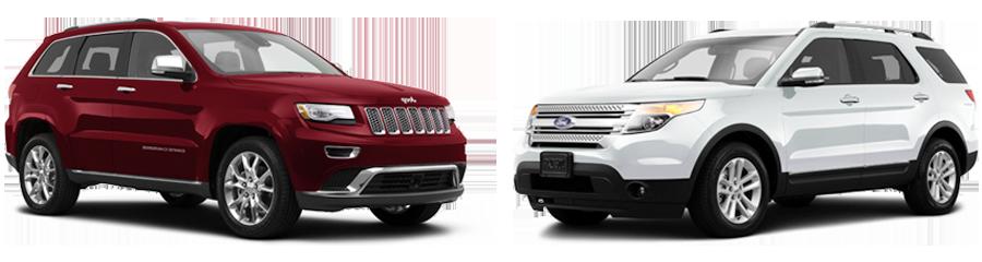 2015 jeep grand cherokee vs ford explorer orlando fl airport cdjr. Black Bedroom Furniture Sets. Home Design Ideas