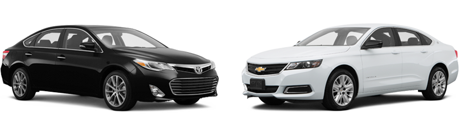 2015 Toyota Avalon vs Chevrolet Impala