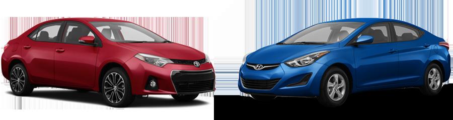 2015 Toyota Corolla vs Hyundai Elantra