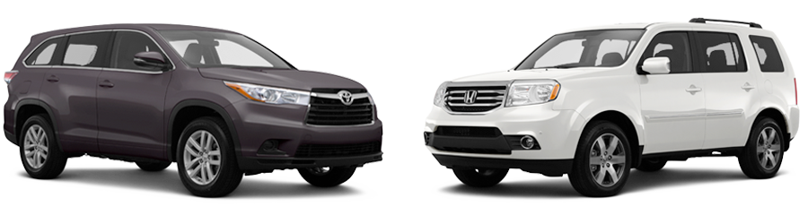 2015 toyota highlander vs honda pilot near lexington for Honda crv vs toyota highlander