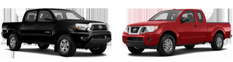 2015-Toyota-Tacoma-vs-Nissan-Frontier