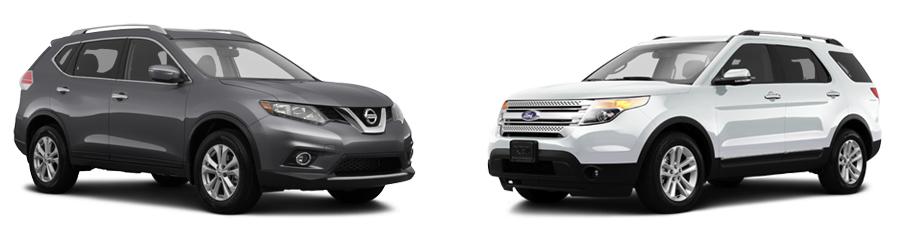 2015 Nissan Rogue vs 2015 Ford Escape