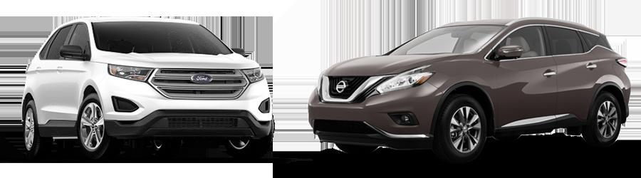 Ford Edge Vs Nissan Murano In Opelika Al