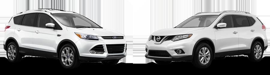 2015 Ford Escape vs. Nissan Rogue in Opelika, AL | Opelika Ford CDJR