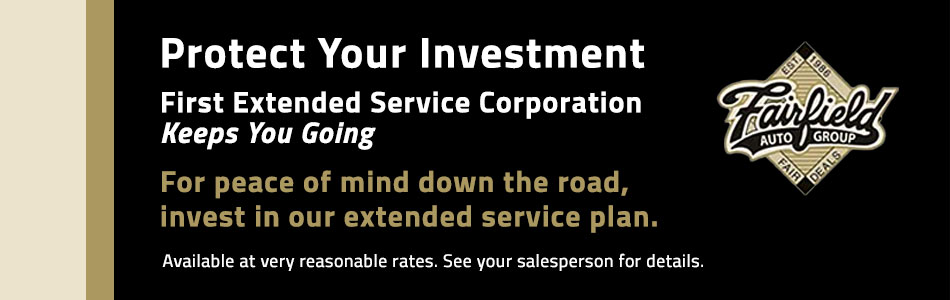 Protect Your Investment Fairfield Honda