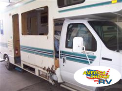 America's Choice RV, sidewall panel and collision repairs