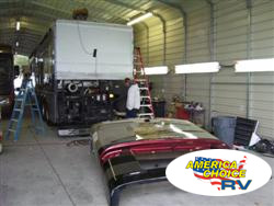 America's Choice RV, front and rear cap replacement