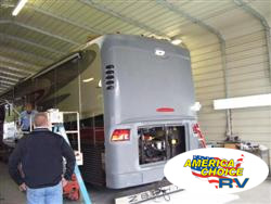 America's Choice RV, front and rear end cap replacement