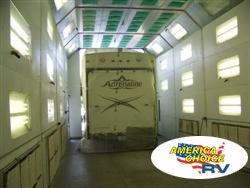 America's Choice RV, full body paint