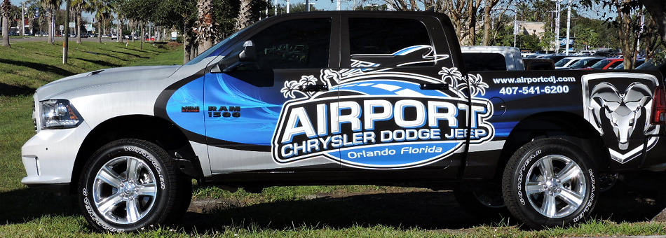 Custom Trucks Airport Chrysler Dodge Jeep - Chrysler dodge jeep orlando