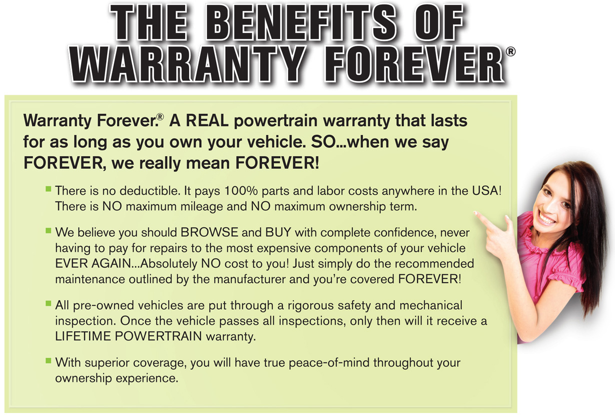 Benefits Of Warranty Forever