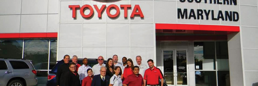 Toyota of Southern Maryland care about you and get you the best deals