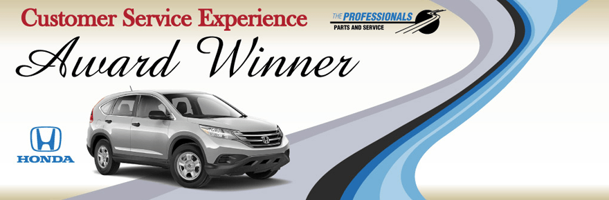Customer service award manly honda dealership for Honda financial services mailing address