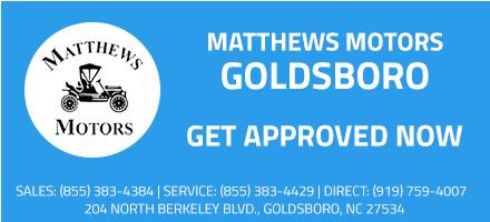 Matthew Motors Goldsboro Nc >> Used Car Loan Application In North Carolina Matthews Motors Group