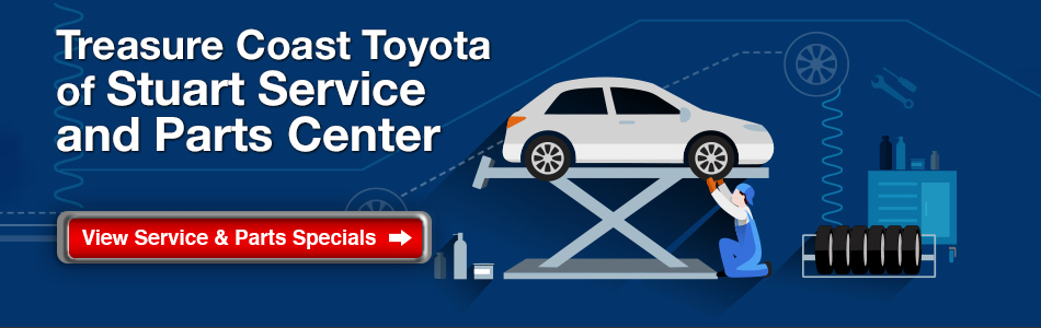 Toyota Service and Parts Specials
