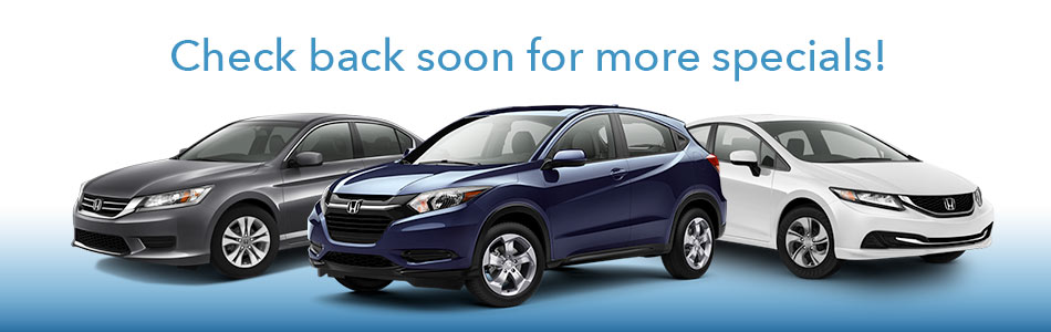 Honda Lease Specials And Financing Offers | Burns Honda