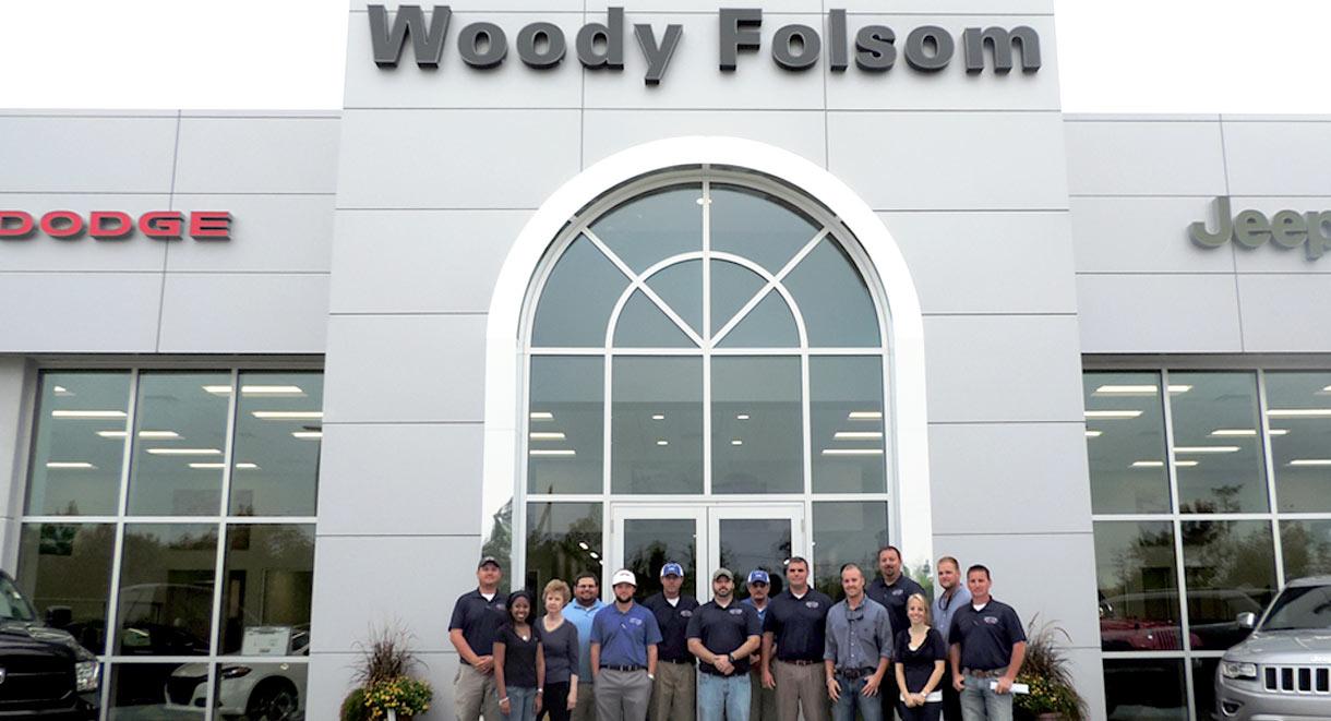 About us woody folsom cdjr for Woody folsom